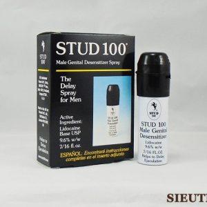 Thuốc xịt Stud 100 Spray, kéo dài thời gian quan hệ, chống xuất tinh sớm cho Nam, công dụng hiệu quả