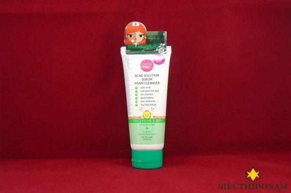 Cathy Doll Acne Solution Serum Foam Cleanser