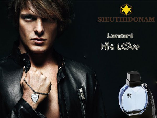 Lomani His Love Eau de Toilette