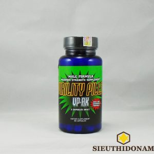 Virility Pills VP-RX, Viên kích thước dương vật, trị yếu sinh lý, tăng cường sinh lực, quan hệ cho Nam