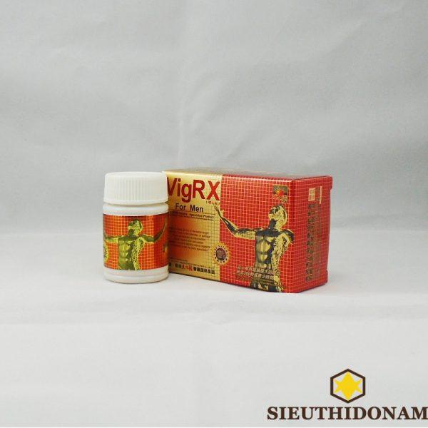 VigRX For Men, Viên tăng cường sinh lý, cương dương nhanh, trị xuất tinh sớm, kích thích ham muốn cho Nam