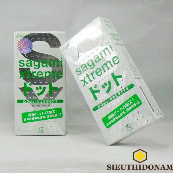 Bao cao su Sagami Dot