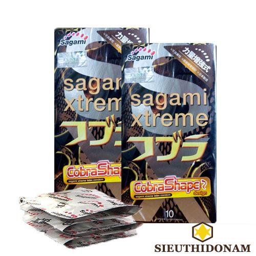 Bao cao su Sagami Xtreme Cobra Shape
