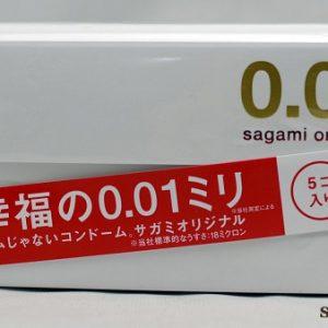 Bao cao su Sagami 0.01