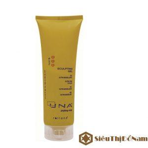 Gel tạo kiểu tóc cứng UNA Sculpting gel, tạo kiểu tóc đẹp, ấn tượng, hương thơm quyến rũ