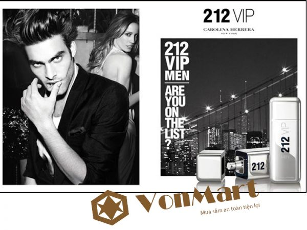 212 Vip Men Are You The List NYC 100ml